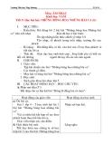 Giáo án âm nhạc lớp 4: Học bài hát: NHỮNG BÔNG HOA NHỮNG BÀI CA (tiết 3)