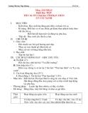 Giáo án âm nhạc lớp 1:  ÔN 2 bài hát: TÌM BẠN THÂN LÝ CÂY XANH