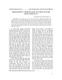 """Báo cáo nghiên cứu khoa học: """"Sergei Esenin và tình yêu nước Nga trong tập thơ """"Những môtip Ba Tư"""""""""""