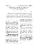 """Báo cáo nghiên cứu khoa học: """"Quan hệ giữa cấu trúc và ngữ nghĩa câu văn trong tập truyện ngắn """"Đêm tái sinh"""" của tác giả Trần Thuỳ Mai"""""""