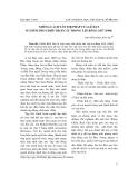 """Báo cáo nghiên cứu khoa học: """"Những cách tân thi pháp của Lê Đạt ở chùm thơ Chiều Bích Câu trong tập Bóng chữ (1994)"""""""