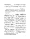 """Báo cáo nghiên cứu khoa học: """"Cấu trúc nghĩa của các phát ngôn tục ngữ nói về các quan hệ trong gia đình người Việt"""""""