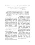 """Báo cáo nghiên cứu khoa học: """"Lý giải một số tập quán của người H'Mông ở Việt Nam theo quan điểm địa lý"""""""