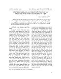 """Báo cáo nghiên cứu khoa học: """"Sự khác biệt về giới tính trong việc sử dụng tiểu từ tình thái tiếng Nghệ Tĩnh gắn với một số hành động ngôn ngữ"""""""