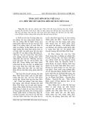 """Báo cáo nghiên cứu khoa học: """"Tính chất hỗn dung thể loại của tiểu thuyết chương hồi chữ Hán Việt Nam"""""""