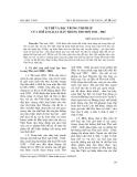 """Báo cáo nghiên cứu khoa học: """"Vị thế và đặc trưng thi pháp của thể loại lục bát trong thơ mới 1932 - 1945"""""""