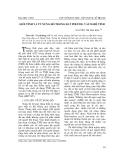 """Báo cáo nghiên cứu khoa học: """"Giới tính và từ xưng hô trong Hát phường vải Nghệ Tĩnh"""""""