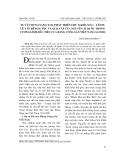"""Báo cáo nghiên cứu khoa học: """"Sự vận dụng sáng tạo, phát triển chủ nghĩa Mác - Lênin về vấn đề dân tộc và giai cấp của Nguyễn ái Quốc trong cương lĩnh đầu tiên của Đảng cộng sản Việt Nam (3.2.1930)."""""""
