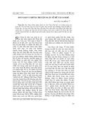 """Báo cáo nghiên cứu khoa học: """"Sơn Nam và những truyện ngắn về đề tài Nam Bộ """""""