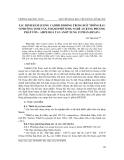 """Báo cáo nghiên cứu khoa học: """"ác định hàm lượng Cadimi di động trong đất trồng rau ở phường Vinh Tân, thành phố Vinh, Nghệ An bằng phương pháp vôn - ampe hoà tan anôt xung vi phân (DPASV)"""""""