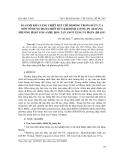 """Báo cáo nghiên cứu khoa học: """"So sánh khả năng chiết rút chì di động trong đất của một số dung dịch chiết rút khi định lượng Pb (II) bằng phương pháp Von-ampe hoà tan anot xung vi phân (DPASV)"""""""