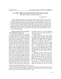 """Báo cáo nghiên cứu khoa học: """" Cấu trúc thể loại tiểu thuyết Nho lâm ngoại sử (Bản dịch tiếng Việt: Chuyện làng nho)"""""""