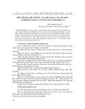 """Báo cáo nghiên cứu khoa học: """"Một số dẫn liệu về dầu nhân hạt cây Cọc rào (Jatropha curcas L.) ở vùng núi tỉnh Nghệ An"""""""