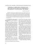 """Báo cáo nghiên cứu khoa học: """" ảnh hưởng của phong trào cách mạng tư sản Trung Quốc do Tôn Trung Sơn lãnh đạo đối với Phan Bội Châu và Nguyễn ái Quốc - Hồ Chí Minh"""""""