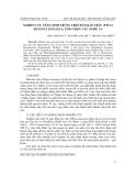"""Báo cáo nghiên cứu khoa học: """" Nghiên cứu về ký sinh trùng trên Rắn ráo trâu (Ptyas mucosus Linnaeus, 1758) ở khu vực Nghệ An"""""""