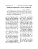 """Báo cáo nghiên cứu khoa học: """"Tình huống truyện trong """"Yêu ngôn"""" của Nguyễn Tuân"""""""