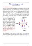 giáo trình các phản ứng peri hóa Pericyclic Reactions