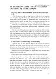 Giáo trình Luật Lao động cơ bản 2005 phần 6