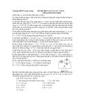 ĐÈ THI HKI VẬT LÝ 11 NC ( 10-11)
