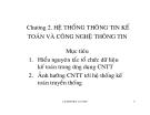 Bài giảng HỆ THỐNG THÔNG TIN KẾ TOÁN - Chương 2