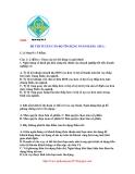 Đề thi tuyển cán bộ tín dụng ngân hàng Bắc Á 2009