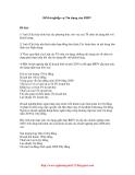 Đề thi nghiệp vụ Tín dụng của BIDV 22/07