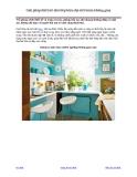 Giải pháp thiết kế nhà bếp hiện đại tiết kiệm không gian