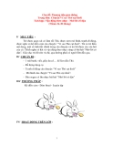 Chủ đề: Phương tiện giao thông-Chuyện Vì sao Thỏ cụt đuôi