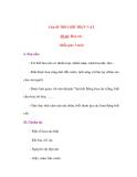 Chủ đề THẾ GIỚI THỰC VẬT Đề tài: Hoa cúc
