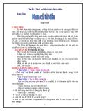 Chủ đề: Nước và hiện tượng thiên nhiên