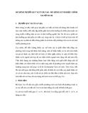 MÔ HÌNH TỰ HỒI QUY VECTOR VAR - MÔ HÌNH VETOR HIỆU CHỈNH SAI SỐ VECM