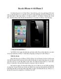 Đọ sức iPhone 4 với iPhone 5