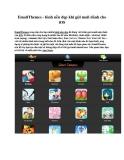 EmailThemes - hình nền đẹp khi gửi mail dành cho iOS