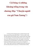 Cái bóng và những khoảng trống trong văn chương (Đọc Chuyện người con gái Nam Xương)