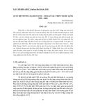 """Báo cáo nghiên cứu khoa học: """"QUAN HỆ THƯƠNG MẠI HÀN QUỐC – HOA KỲ SAU CHIẾN TRANH LẠNH (1989 – 2009)"""""""