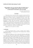 """Báo cáo nghiên cứu khoa học: """"Tỷ lệ mắc và vi khuẩn gây bệnh nhiễm trùng đường tiết niệu ở trẻ em từ 2 tháng đến 6 tuổi trong một số lĩnh vực của Hải Phòng, Việt Nam trong năm 2008"""""""