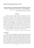 """Báo cáo nghiên cứu khoa học: """"Nghiên cứu về phát triển thể chất và tâm thần và một số yếu tố liên quan của trẻ sơ sinh ở thành phố Huế - Việt Nam, 2009-2010"""""""