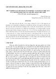 """Báo cáo nghiên cứu khoa học: """"THỬ NGHIỆM TẠO CHẾ PHẨM LÂN SINH HỌC VÀ ĐÁNH GIÁ HIỆU QUẢ CỦA CHẾ PHẨM ĐẾN MỘT SỐ CHỈ TIÊU SINH LÍ HÓA SINH CỦA CÂY LẠC (Arachis hypogaea L.)"""""""