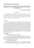 """Báo cáo nghiên cứu khoa học: """"NGHIÊN CỨU PHÂN LẬP VÀ NHẬN DẠNG CẤU TRÚC ALKALOID TRONG DỊCH CHIẾT TỪ LÁ VÔNG NEM (ERYTHRINA ORIENTALIS L. FABACEAE) THỪA THIÊN HUẾ"""""""