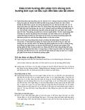 Giáo trình hướng dẫn phân tích những ảnh hưởng tích cực và tiêu cực đến báo cáo tài chính  p1