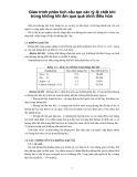 Giáo trình phân tích cấu tạo các tỷ lệ chất khí trong không khí ẩm qua quá trình điều hòa p1