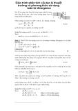 Giáo trình phân tích cấu tạo lý thuyết trường và phương thức sử dụng toán tử divergence p1