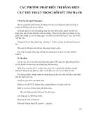 Điều trị nội khoa - CÁC PHƯƠNG PHÁP ĐIỀU TRỊ BẰNG ĐIỆN CÁC THỦ THUẬT TRONG HỒI SỨC TIM MẠCH