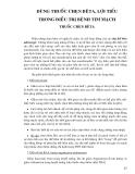 Điều trị nội khoa - DÙNG THUỐC CHẸN BÊTA, LỢI TIỂU TRONG ĐIỀU TRỊ BỆNH TIM MẠCH THUỐC CHẸN BÊTA