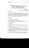 Công trình nghiên cứu khoa học (1987 - 2000) part 7