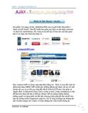 AJAX - TƯƠNG LAI CỦA WEB 2.0