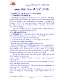 Giáo trình Cơ sở dữ liệu - Chương 1: TỔNG QUAN VỀ CƠ SỞ DỮ LIỆU