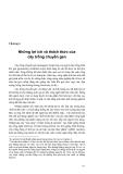 Công nghệ chuyển gene trong nông nghiệp - Chương 4