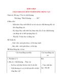 Giáo án lớp 4 môn KHOA HỌC CHẤT KHOÁNG ĐỐI VỚI ĐỜI SỐNG ĐỘNG VẬT