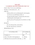 Giáo án lớp 4 môn KHOA HỌC CÁC KHOÁNG CHẤT ĐỐI VỚI ĐỜI SỐNG THỰC VẬT (tiết 2)